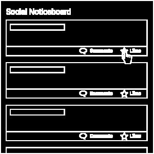 Social Noticeboard